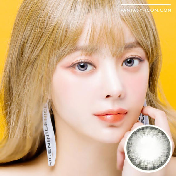 Toric Colored Contacts for Astigmatism - Bonita Dia Grey 1