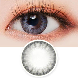 Toric Lens Bonita Dia Grey Colored Contacts For Astigmatism