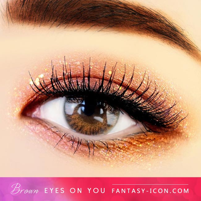 Brown Colored Contacts - Eyes on You - Eyes 2