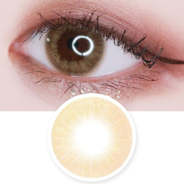 Toric Lens Etoile Honey Brown Colored Contacts For Astigmatism