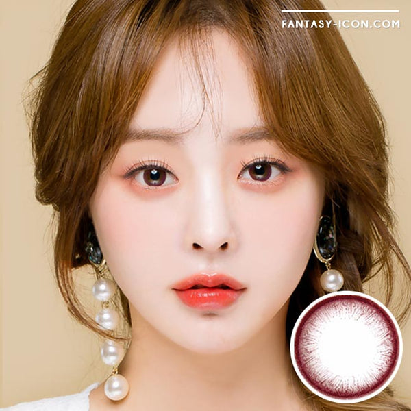 Toric Lens Grace Brown Colored Contacts For Astigmatism model 1