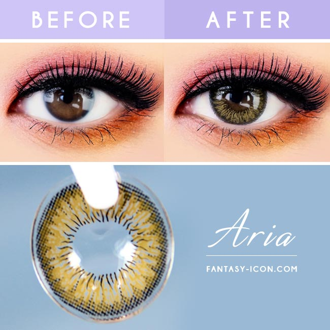 Brown Toric Colored Contacts for Astigmatism Neo Aria 2