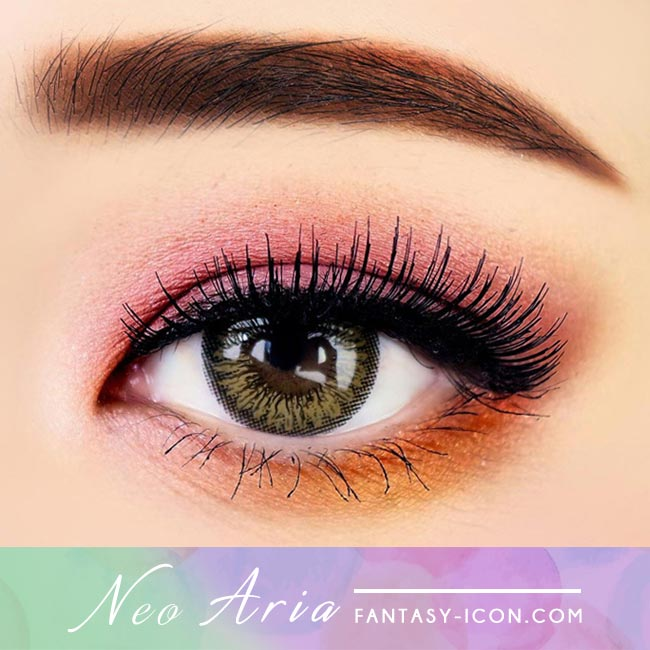 Brown Toric Colored Contacts for Astigmatism Neo Aria 3