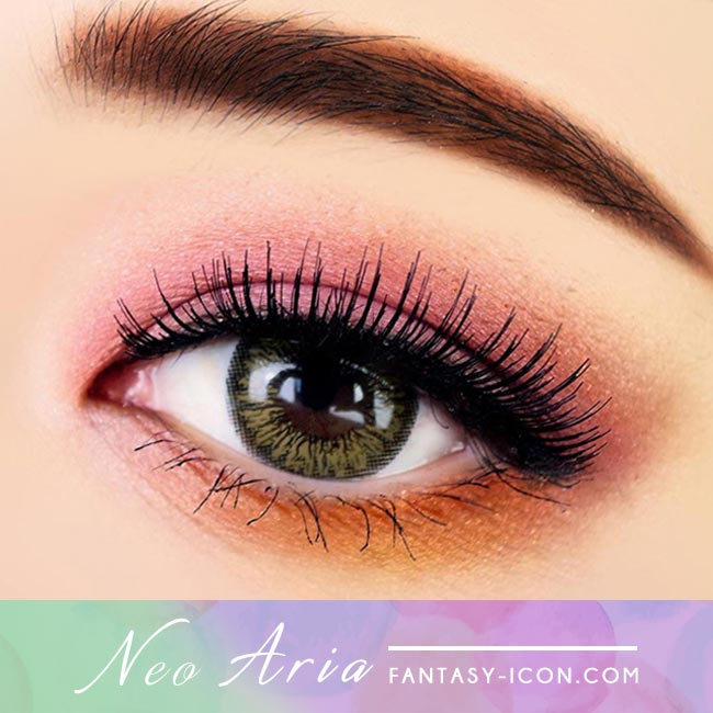 Brown Toric Colored Contacts for Astigmatism Neo Aria 4