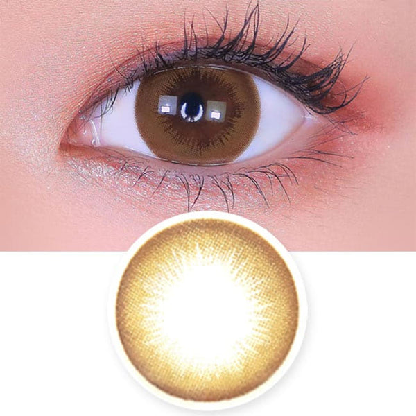 Toric Lens Danbie Brown Colored Contacts For Astigmatism