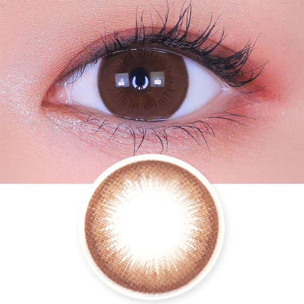 Toric Lens Brownie Brown Colored Contacts For Astigmatism