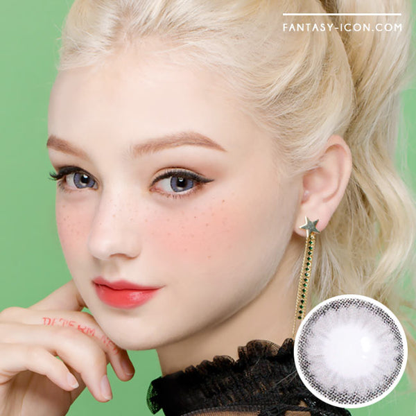 Colored Contacts Cielo Cloud Grey - Circle Lenses 1