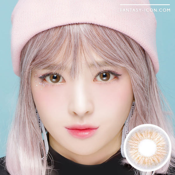 Colored Contacts Coco Peony Brown - Circle Lens 1