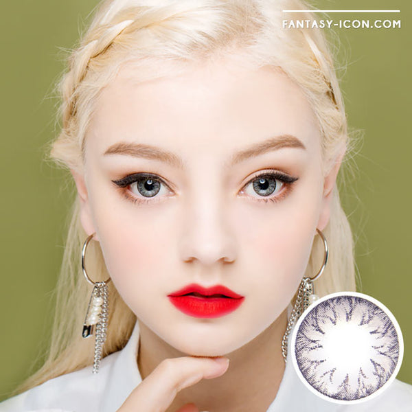 Colored Contacts Cielo Soony Grey - Circle Lenses 1