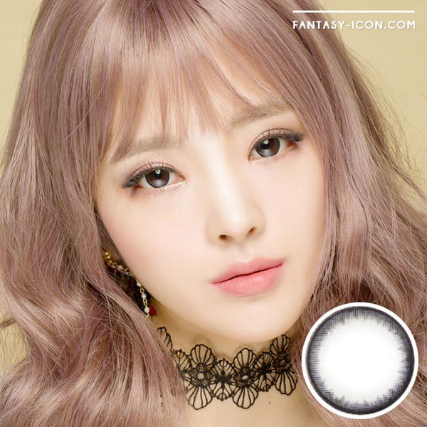 Colored Contacts Natural Pearl Black - Circle Lenses 1