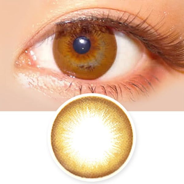 Danbie Brown Colored Contacts - Circle Lenses