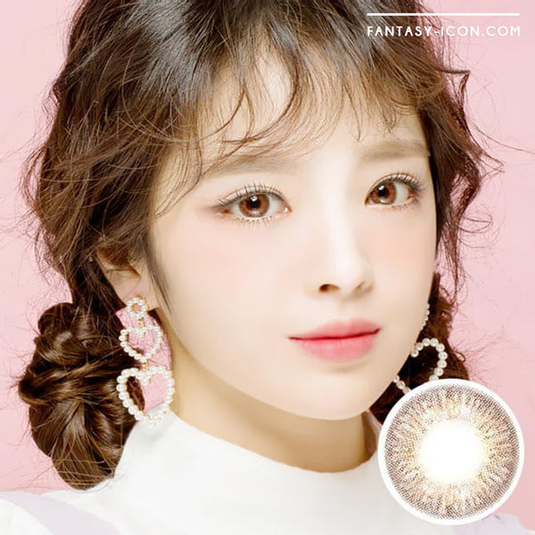 Colored Contacts Elsa Diana Brown - Circle Lenses 1