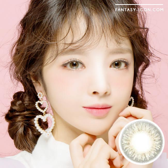 Toric Colored Contacts for Astigmatism - Elsa Diana Grey 1