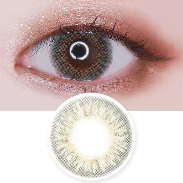 Toric Lens Elsa Diana Grey Colored Contacts For Astigmatism