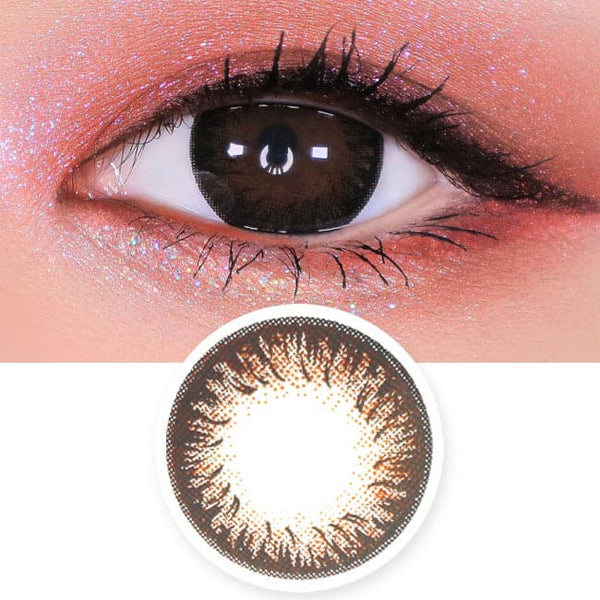 Disco Dali Brown Contacts for Hperopyia | farsightedness