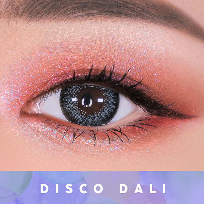 Disco Dali Gray Contacts for Hperopyia | farsightedness Eyes 2