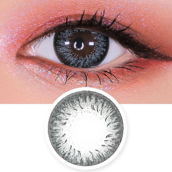 Disco Dali Grey Contacts | Circle Color Lens