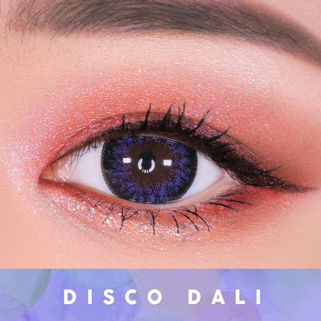 Toric Lens Disco Dali Violet | Colored Contacts For Astigmatism eyes 2