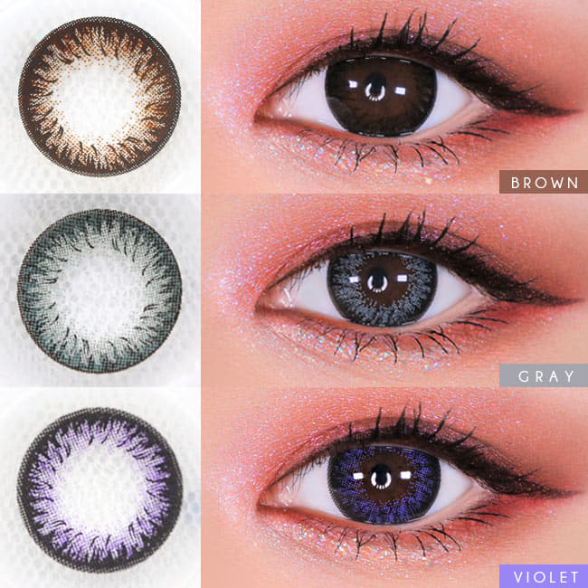 Toric Lens Disco Dali  Colored Contacts For Astigmatism