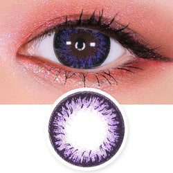 Toric Lens Disco Dali Violet | Purple Colored Contacts For Astigmatism