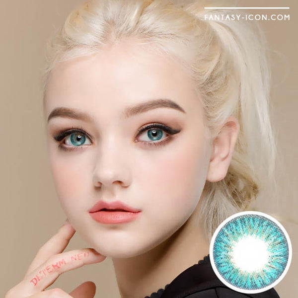 Innovision Elegance Aqua Blue Contacts 1