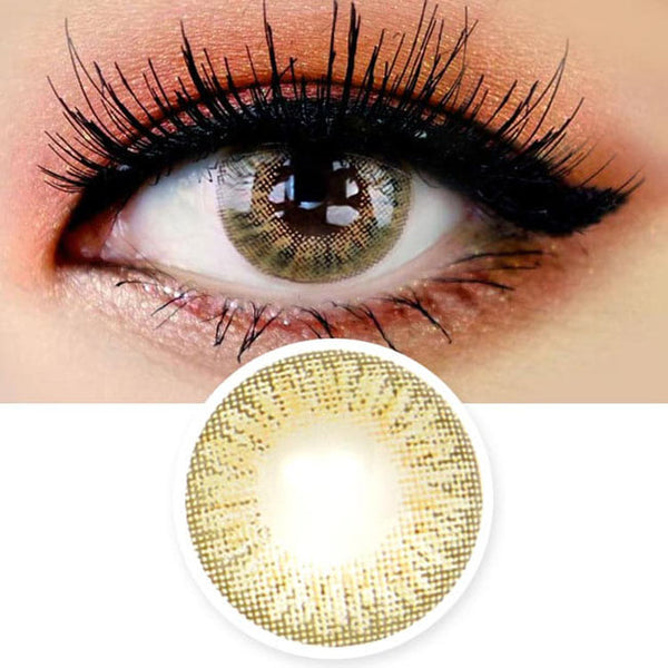 Innovision Elegance Hazel Brown Contacts