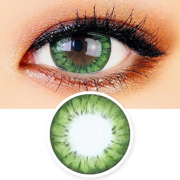 Green Contacts - Ella