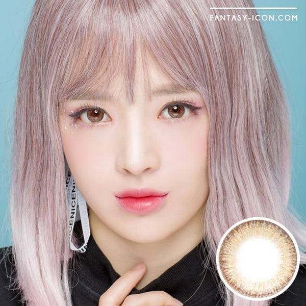Colored Contacts Espoir Aida Brown - Circle Lenses 1