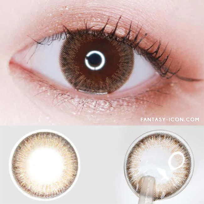Toric Lenses Espoir Aida Brown Colored Contacts For Astigmatism 2