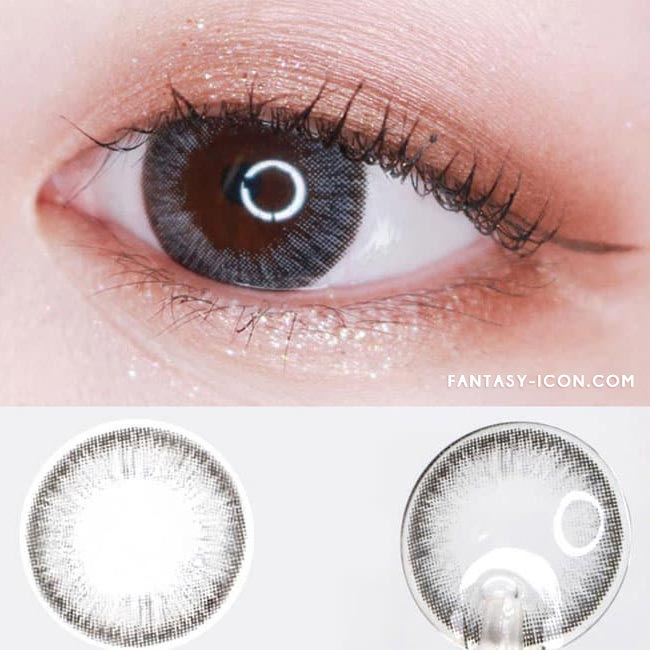 Colored Contacts For Astigmatism - Espoir Aida Grey 2