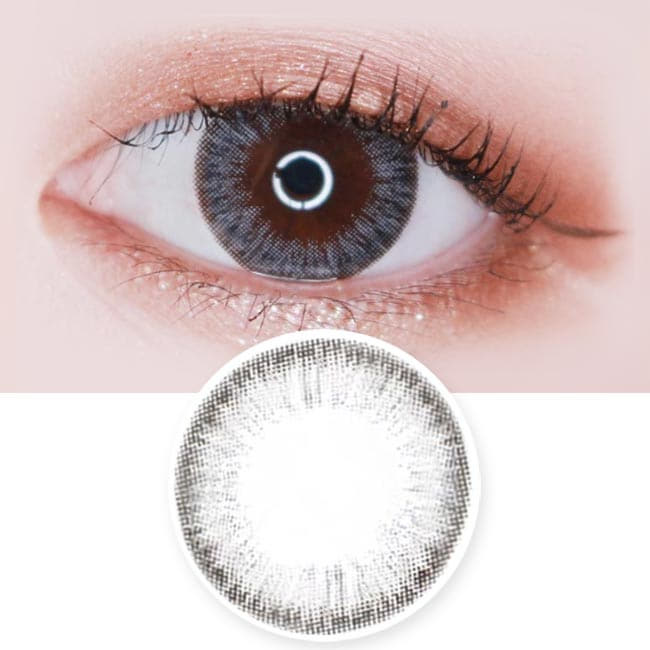 Toric Lens Espoir Aida Grey Colored Contacts For Astigmatism
