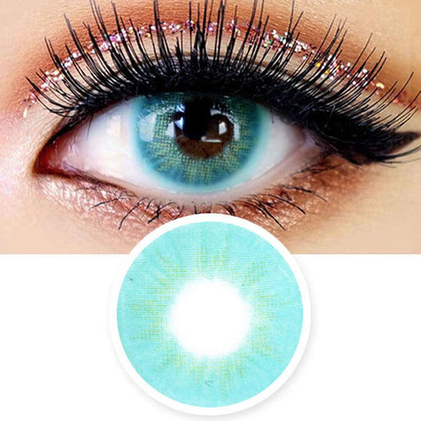 Innovision Fantasy Eye Aqua Blue Contacts