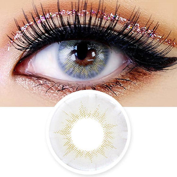 Innovision Fantasy Eye White Grey Contacts | UV Blocking