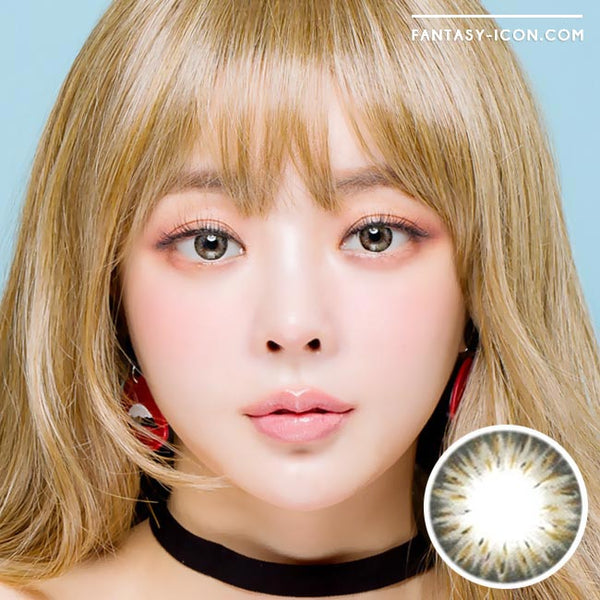 Colored Contacts Gemstone Grey - Circle Lenses 1