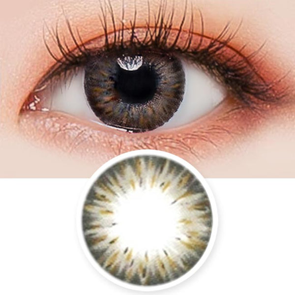 Colored Contacts Gemstone Grey - Circle Lenses