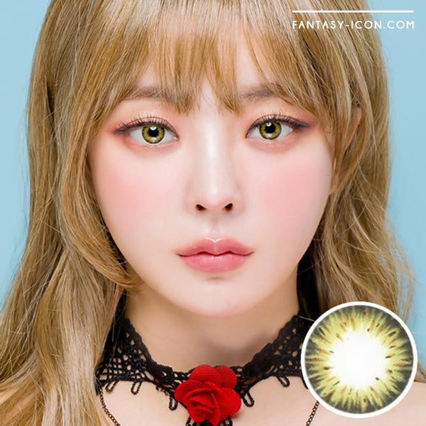 Colored Contacts Gemstone Green - Circle Lenses 1