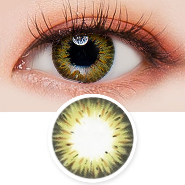 Colored Contacts Gemstone Green - Circle Lenses