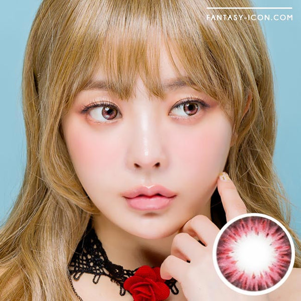 Colored Contacts Gemstone Pink - Circle Lenses 1