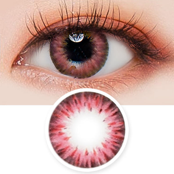 Colored Contacts Gemstone Pink - Circle Lenses