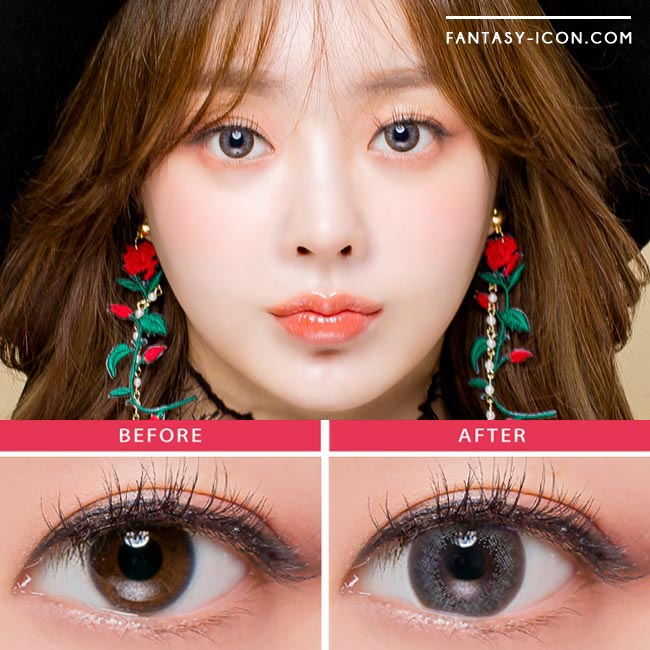 Luz Dali Grey - Toric Colored Contacts for Astigmatism 3