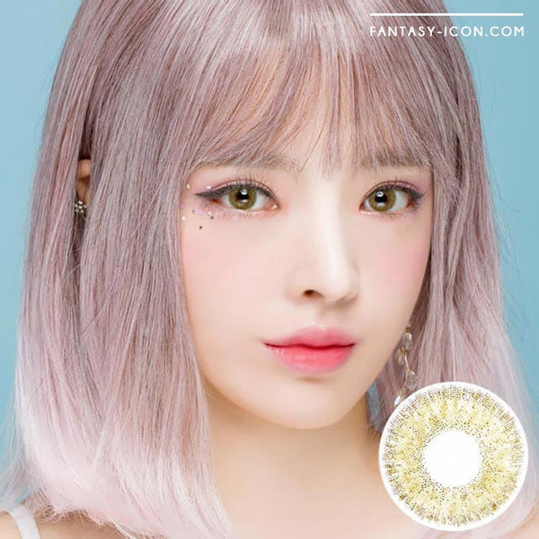 Colored Contacts Alice Dione Brown - Circle Lenses 1