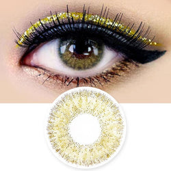 Colored Contacts Alice Dione Brown - Circle Lenses