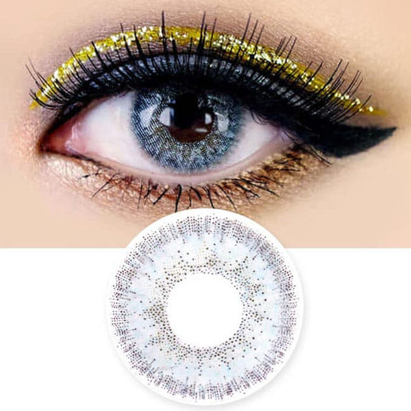 Colored Contacts Alice Dione Grey - Circle Lenses