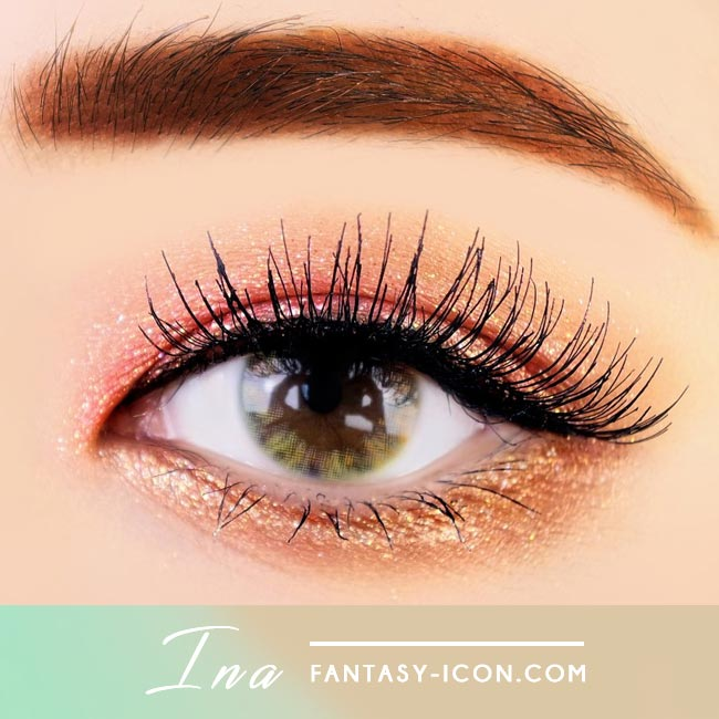 Ina Brown Colored Contacts 2