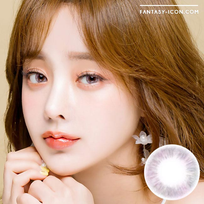 Ina Grey Colored Contact Lenses 1