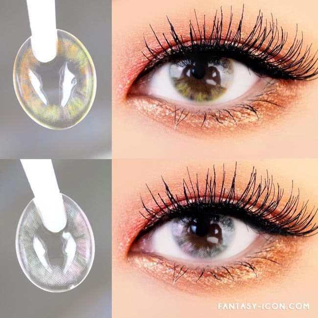 Ina Grey Colored Contact Lenses 4