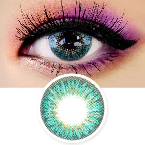 Innovision Love Ardor Aqua Blue Contacts | UV Blocking