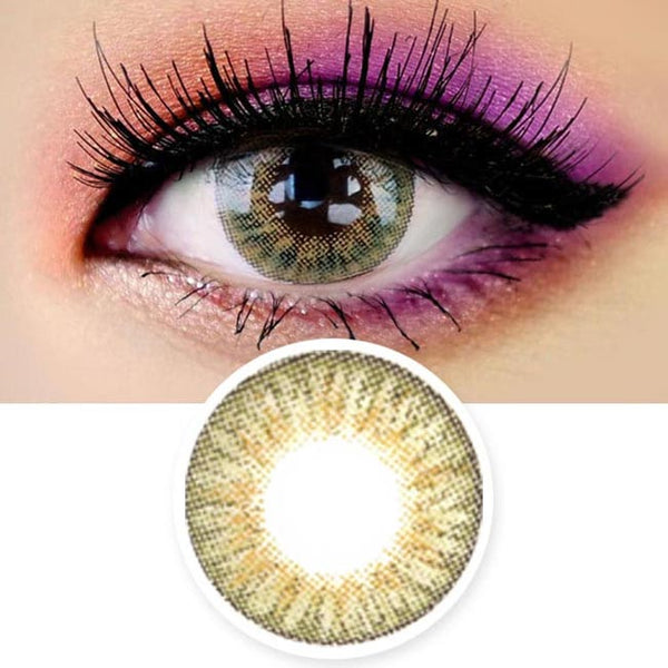 Innovision Love Ardor Hazel Brown Contacts | UV Blocking