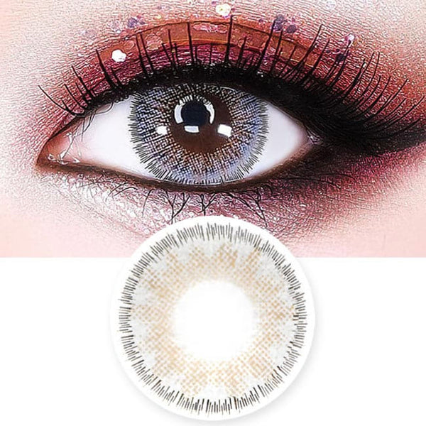 Lucky Dali Grey Colored Contacts for Hperopyia - farsightedness