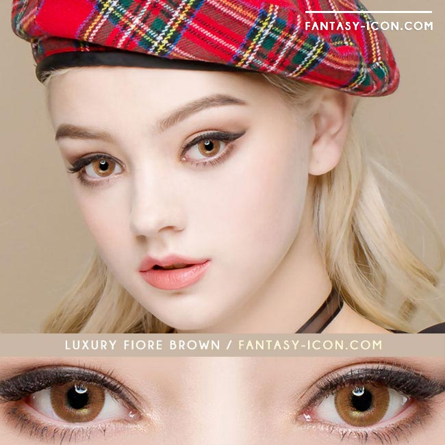 Luxury Fiore Brown Contacts | UV Blocking